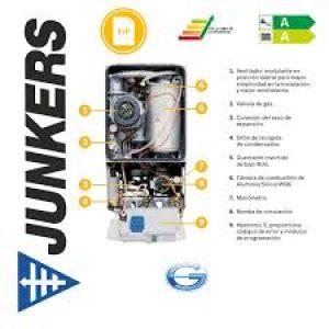 Servicio técnico calderas Junkers Santiago